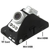 Відеореєстратор 2.7 Inch BL800 Car DVR with Dual Cameras 180 Degree Wide, фото 2
