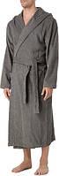 Халат темно серый махровый, Polo Ralph Lauren L/XL