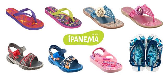 Детская пляжная обувь Rider, Ipanema, Grendha