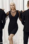 Женское платье-мини с пышными рукавами, фото 2