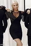 Женское платье-мини с пышными рукавами, фото 3