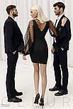 Женское платье-мини с пышными рукавами, фото 5
