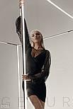 Женское платье-мини с пышными рукавами, фото 6