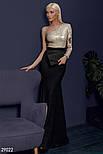 Вечернее ассиметричное платье-макси, фото 2