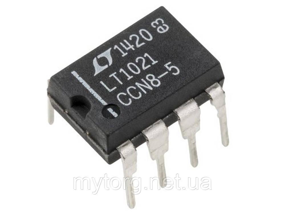 Источник опорного напряжения LT1021CCN8-5 DIP-8 10 шт.