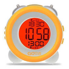 Часы электронные (будильник) GOTIE GBE-200Y