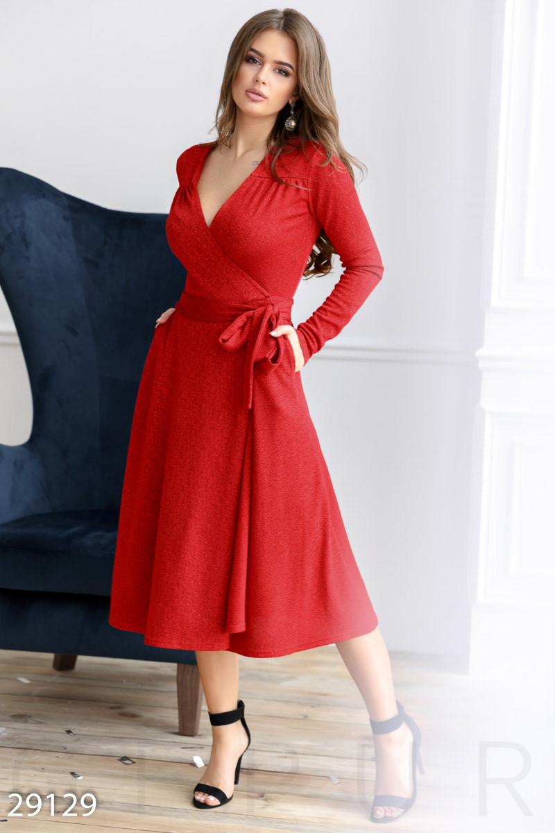19752f582e5 Вечернее Платье-халат Красного Цвета — в Категории