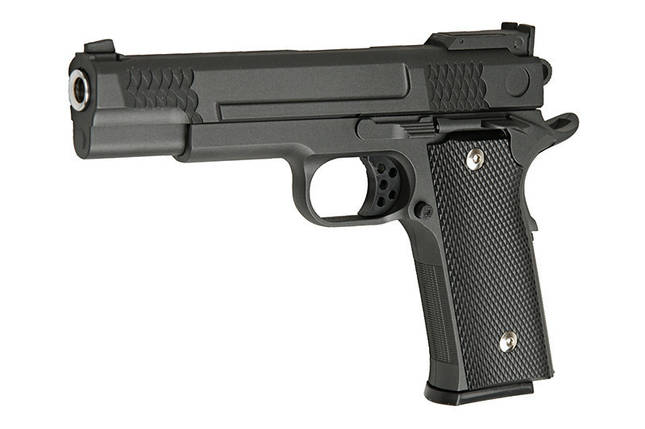 Replika pistoletu G20 - czarny [Galaxy] (для страйкбола), фото 2