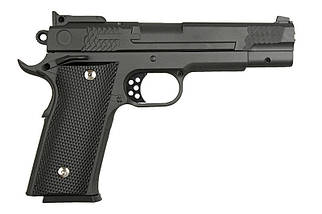 Replika pistoletu G20 - czarny [Galaxy] (для страйкбола), фото 3