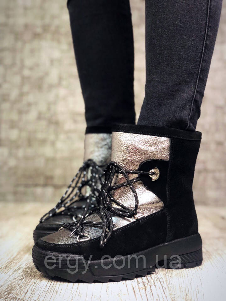 Ботиночки - Луноходы. Натуральная Кожа + Замша 4fbbe70fe18d2