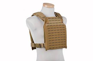 Тактический разгрузочный жилет Laser Cut Plate Carrier - tan [GFC Tactical] (для страйкбола), фото 3