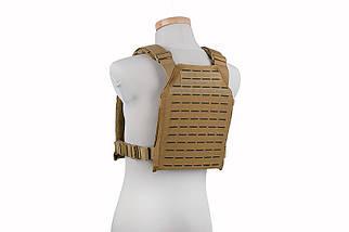 Тактический разгрузочный жилет Laser Cut Plate Carrier - tan [GFC Tactical] (для страйкбола), фото 2