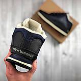 Мужские зимние New Balance 754 (dark blue), мужские зимние ботинки new balance 754,new balance 754, фото 2