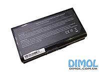 Аккумуляторная батарея для Asus F70 series, black, 5200mAhr 14.4-14.8v