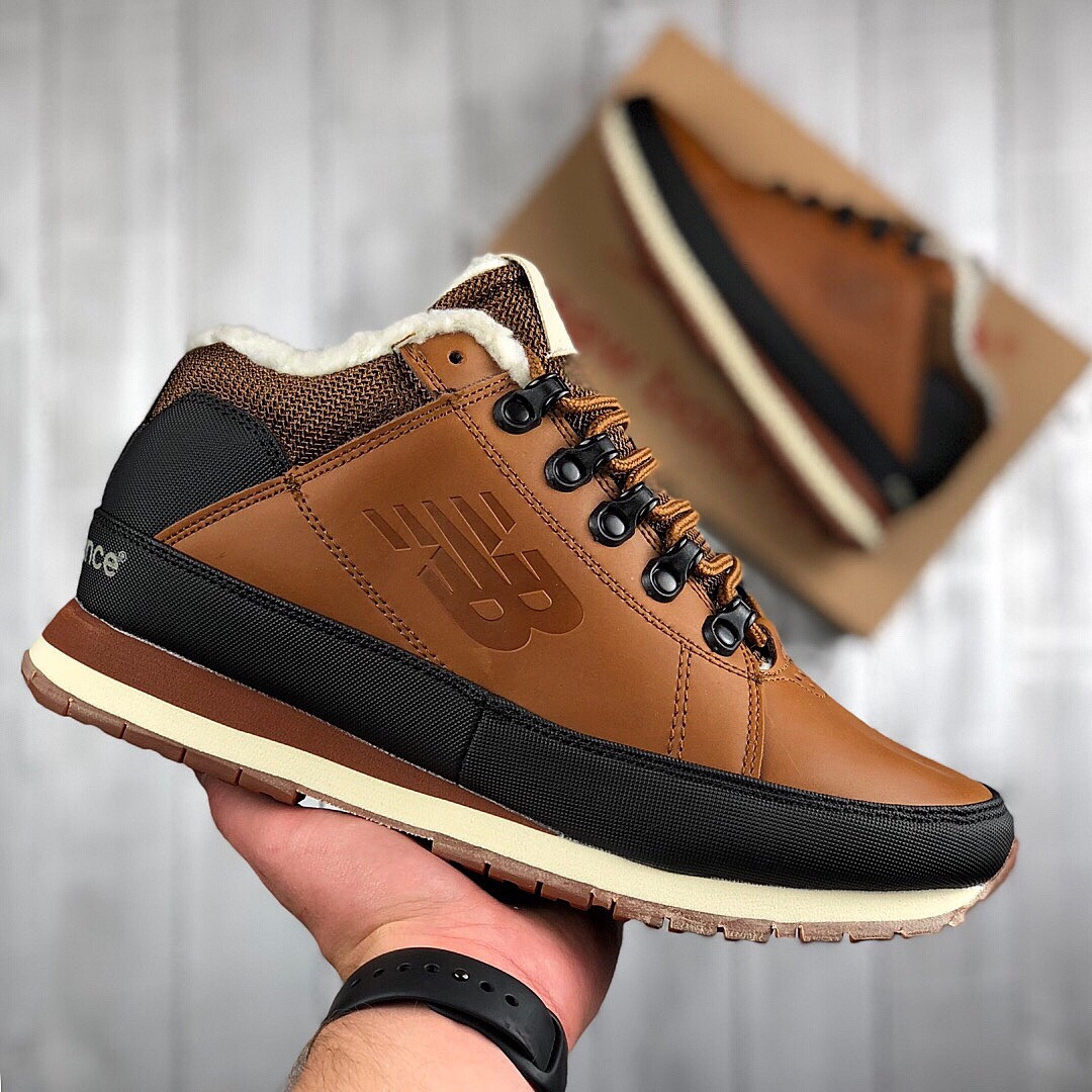 Мужские зимние New Balance 754 (brown), мужские зимние ботинки new balance 754, коричневые зимние new balance