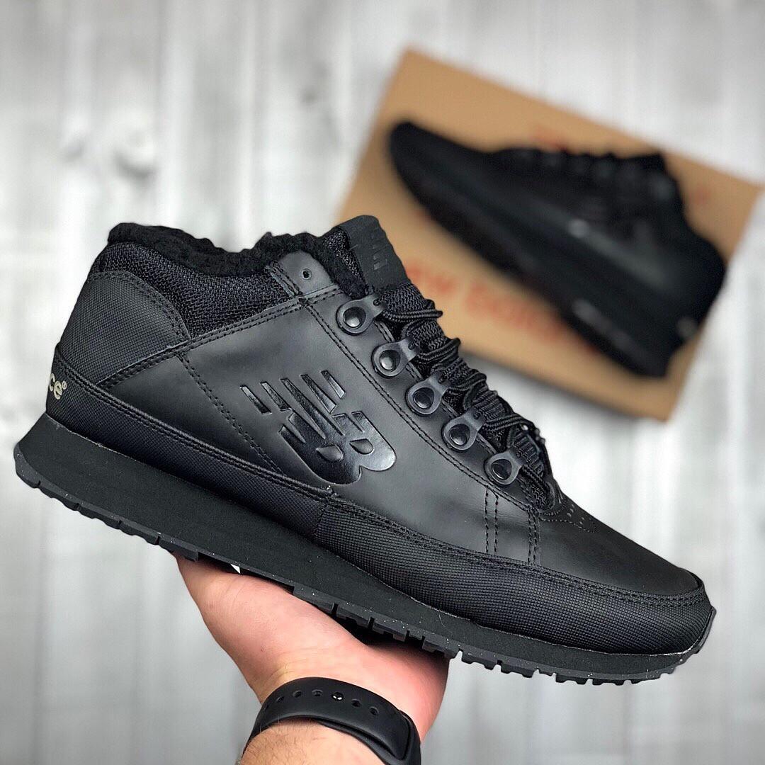 Мужские зимние New Balance 754 (black), мужские зимние ботинки new balance  754, черные зимние new balance 754 0fd2ff8dc8c