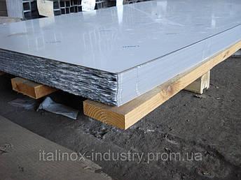 Нержавеющий лист AISI 202 шлиф под пленкой 1,0 х1250 х 2500, фото 2