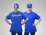 Печать на футболках и кепках, цветной промо текстиль , фото 4