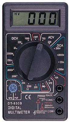 Цифровой мультиметр DT- 830B тестер,, фото 2
