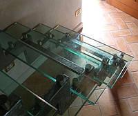 Лестница на двух металлических косоурах, фото 1