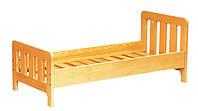 Кровать детская из натурального дерева (81310)