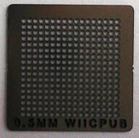 BGA трафарет 0,5mm WIICPUB