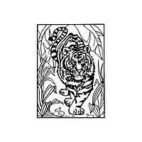 Раскраска бархатная В4 E61412 (ассорти)