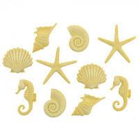 9364 Декоративні гудзики. Морські фігурки