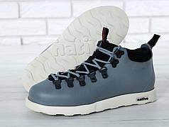 Ботинки зимние Native Fitzsimmons Grey. ТОП Реплика ААА класса.