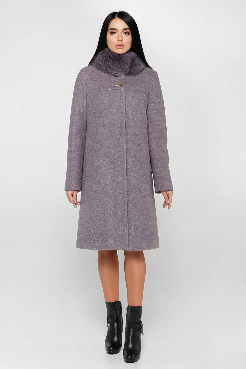 Пальто шерстяное зимнее П-990 Шерсть пальтовая 113-1712 Тон В5