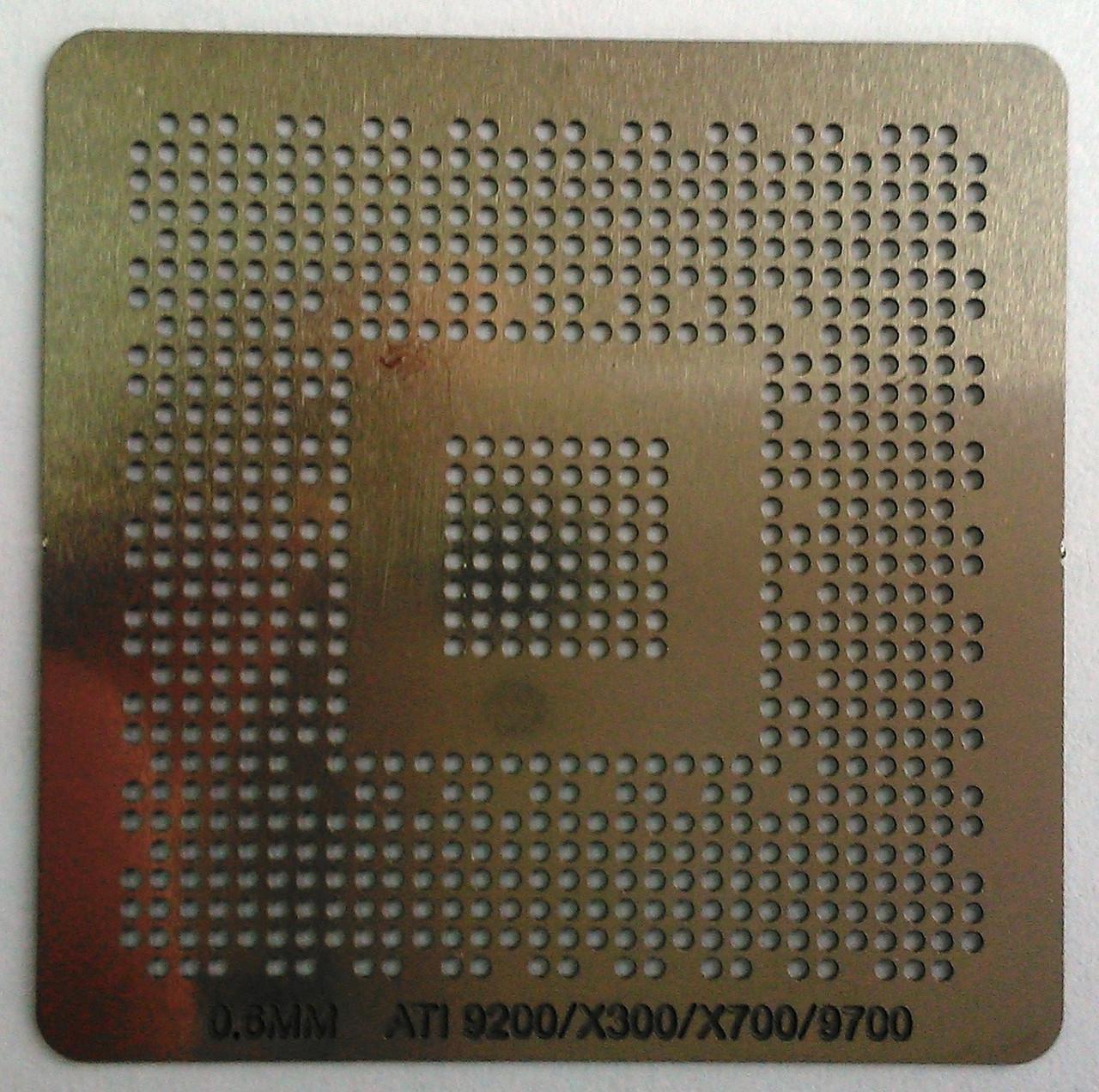 BGA трафарет 0,6mm ATI 9200/X300/X700/9700
