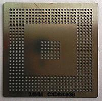 BGA трафарет 0,6mm CXD9209GB