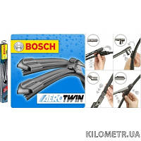 Бескаркасные стеклоочистители (бескаркасные дворники) Bosch AeroTwin (3397008533) 475мм