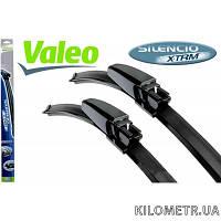 Щетки стеклоочистителей к-кт  Valeo Silencio X-Trm (vm301) 530/530мм(574302)