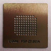 BGA трафарет 0,6mm PSP Z7 201A