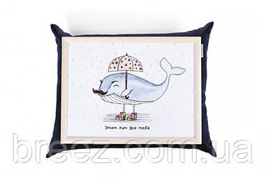 Поднос с подушкой Кит
