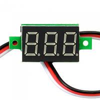 Цифровий вольтметр 0 -100В, фото 1