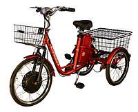 Электровелосипед SkyBike З-CYCL (трицикл) 3-х колесный, электровелосипеды в Украине