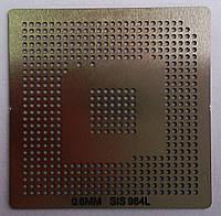 BGA трафарет 0,6mm SIS 964L