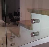 Скляне огородження сходів, фото 1