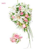 """Свадебный букет для сиюящей невесты """"Секрет Лилии"""""""