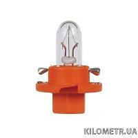 Галогенная лампа NARVA T5 12V 1,1W (17046) (короткая, оранжевая)