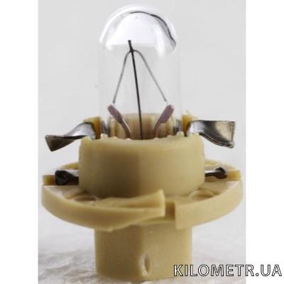 Галогенная лампа NARVA T5 12V 1,5W (17048) (короткая, бежевая)