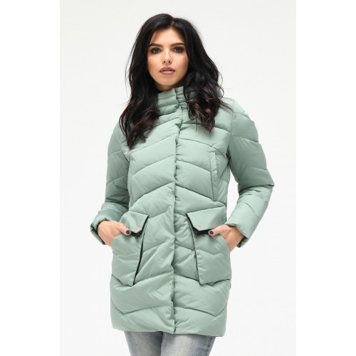 Зимняя куртка 018 Мята