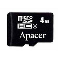 Карта памяти Apacer microSD 4GB class 4