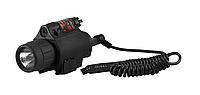 Фонарь подствольный Фонарь+лазер DL-120