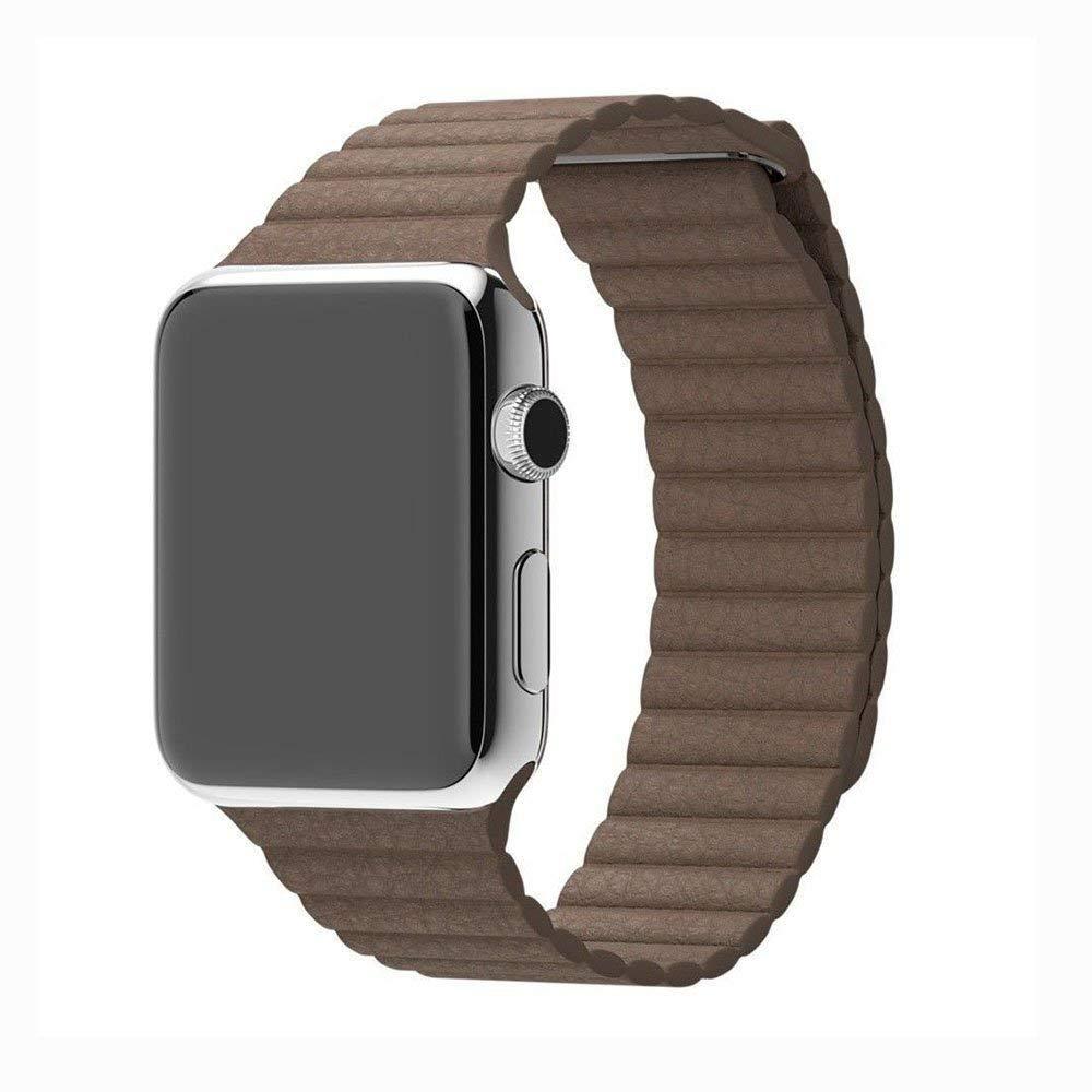 ef4a8473 Ремешок Blimey для Apple Watch Series 2 Leather Loop 42 mm Chocolate Brown  (756414)