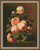 Набор для вышивки крестиком Розы Ю 0120