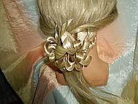 Заколки из искусственных волос ручной работы на крабе  (ПОСТИЖ)
