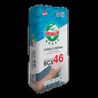 Клей  для мрамора и мозаики белый Anserglob ВСХ-46 для внутренних и наружных работ 25 кг